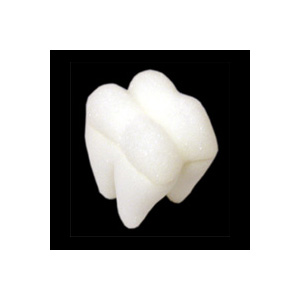 "Foam Tooth 2"" (White) by Goshman - Trick"