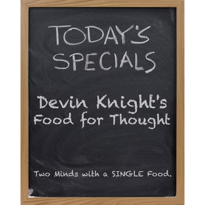 Food for Thought by Devin Knight - Tricks