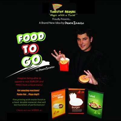 Food To Go by George Iglesias and Twister Magic - Trick
