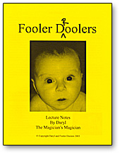 Fooler Droolers Lecture Notes by Daryl - Book