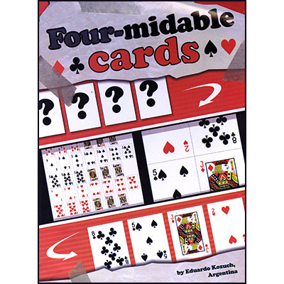 Four-Midable Cards by Eduardo Kozuch - Trick