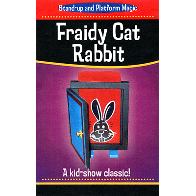 Fraidy Cat Rabbit (Clown) - Trick