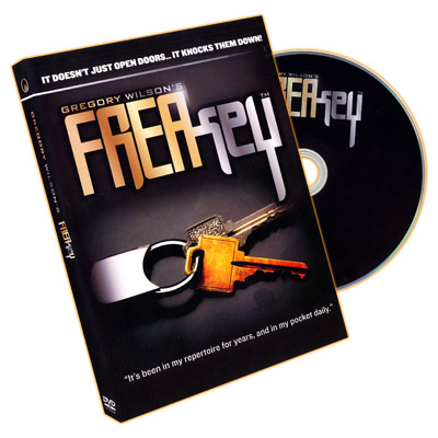 FreaKey (DVD And Props) by Gregory Wilson