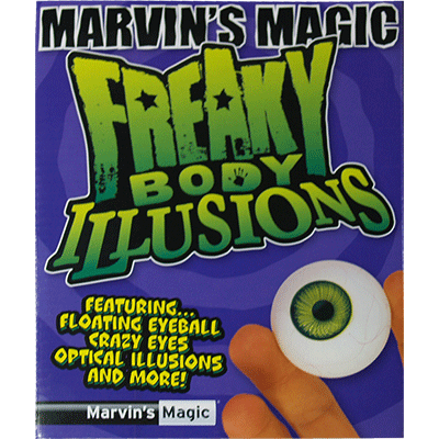 Freaky Body Parts Eyeball! - Marvins Magic - Kit de Magia para N