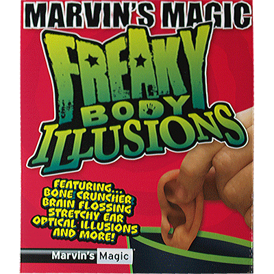 Freaky Body Parts Ear! - Marvins Magic