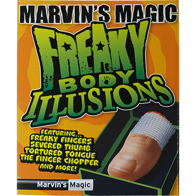 Freaky Body Parts Finger! - Marvins Magic - Kit de Magia para Ni