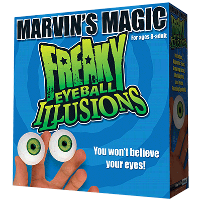 Freaky Eyeball Illusions by Marvin Magic - Trick