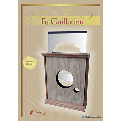 Fu Guillotine by Dinucci Magic - Trick