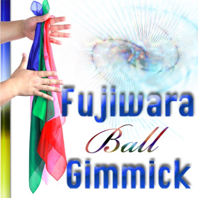 Fujiwara Ball Gimmick (w/DVD, Bigger Size, up to three 18 inch silks) - Fujiwara