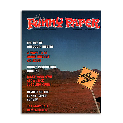 Funny Paper Mag. early summer 2005 v6 n1