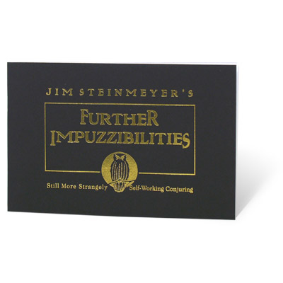 Further Impuzzibilities - Jim Steinmeyer - Libro de Magia