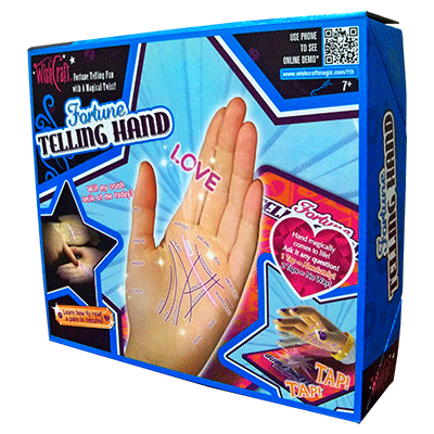 Wishcraft Fortune telling Hand (Rapping Hand and Board) - Fantasma Magic