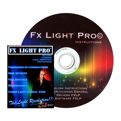 FX Light Pro System by Jorge Robles - Trick