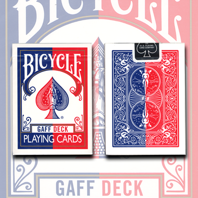 Gaff Effect Deck (Bicycle Blue) by USPCC - Trick