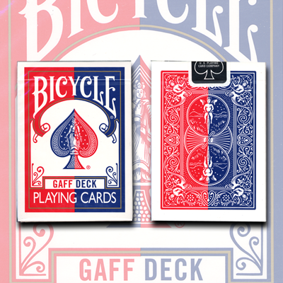 Gaff Effect Deck (Bicycle Red) by USPCC - Trick