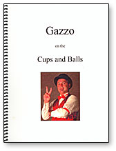 Gazzo on Cups & Balls - Book