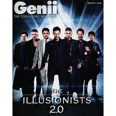 """Genii Magazine """"The Illusionists 2.0""""  June 2014 - Book"""