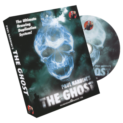 The Ghost (DVD & Gimmick) by Paul Nardini and Alakazam Magic - Tricks