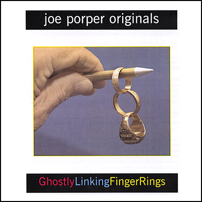Ghostly Linking Finger Rings by Joe Porper - Trick