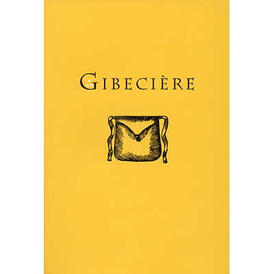 Gibeciere Vol. 3, No. 2 (Summer 2008) by Conjuring Arts Research Center - Book
