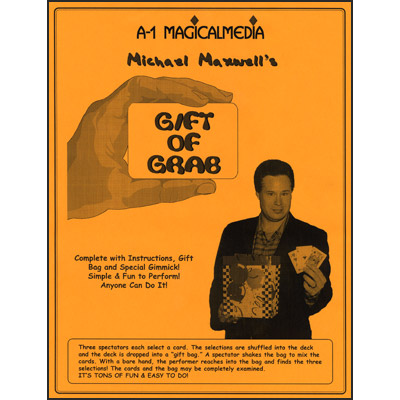 Gift Of Grab by Michael Maxwell - Trick