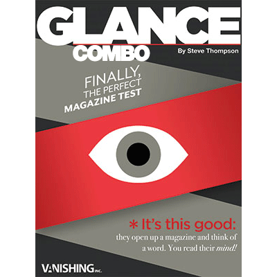 Glance Combo ( 2 Magazines ) by Steve Thompson - Trick
