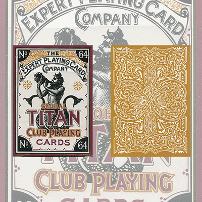 Global Titans (Gold) from The Expert Playing Card Co. - Trick