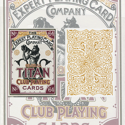Global Titans (White) from The Expert Playing Card Co. - Trick