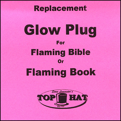 REPLACEMENT Glo Plug for Flaming Book/Bible - Trick