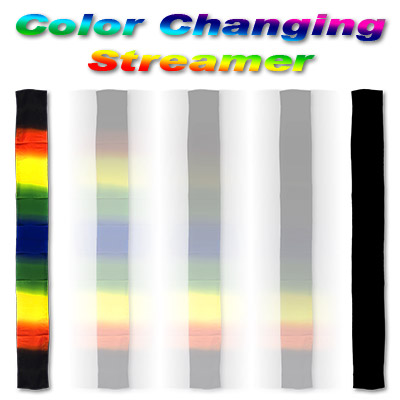 Color Changing Streamer Silk by Gosh - Trick