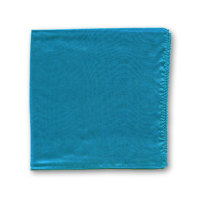 "Silk 12"" single (Teal) Magic by Gosh - Trick"