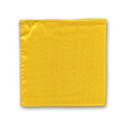 "Silk 12"" single (Yellow) Magic by Gosh - Trick"