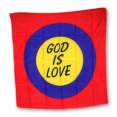 God is Love Gospel Silk (36 inch) - Trick
