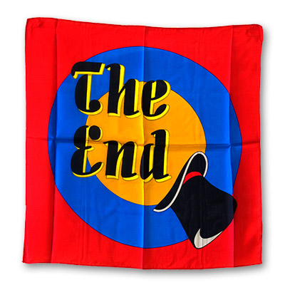 The End silks 36 inch by Magic by Gosh - Trick