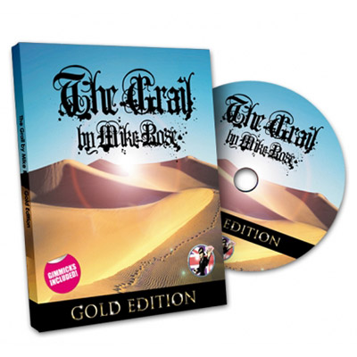 The Grail GOLD Edition (W/DVD) by Mike Rose and Alakazam Magic