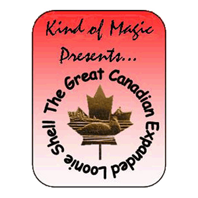 The Great Canadian Loonie Shell by Kind of Magic - Trick