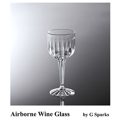 Airborne Glass (Wine) by G Sparks - Trick