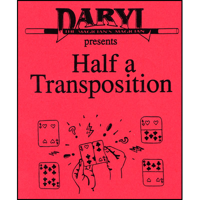 Half A Transposition by Daryl - Trick