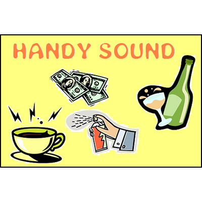Handy Sound (Coin in Liquid and Paper Tear) - Trick