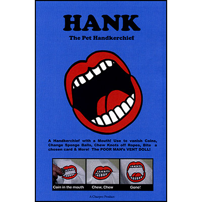 Hank The Pet Hanky by Chazpro Magic - Trick