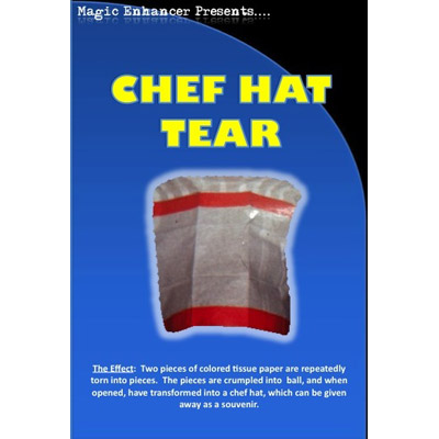 Chef Hat Tear by Magic Enhancer - Trick