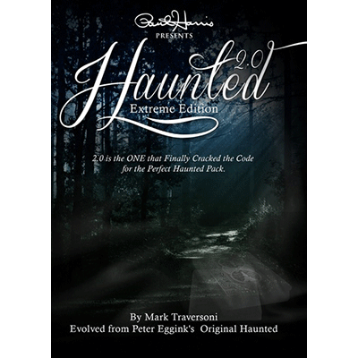 Paul Harris Presents Haunted 2.0 (DVD and Gimmick) by Peter Eggink and Mark Traversoni- DVD