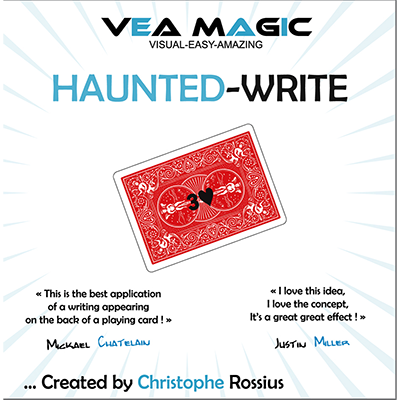 Haunted Write (English / French) by Christophe Rossius - Trick
