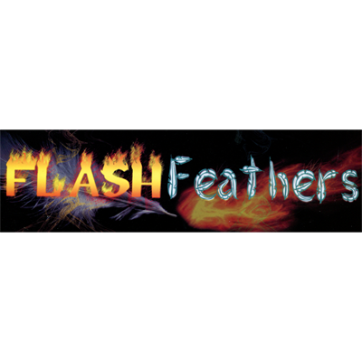 Flash Feather (12 pack) by Panda Magic - Trick