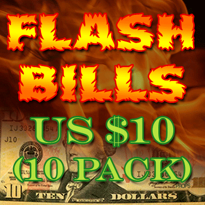 Flash Bill Ten Pack ($10.00) - Trick