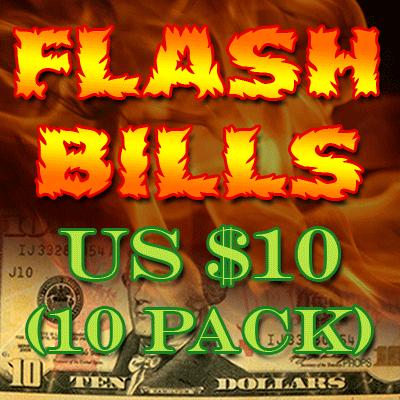 Flash Bill Ten Pack ($10.00)