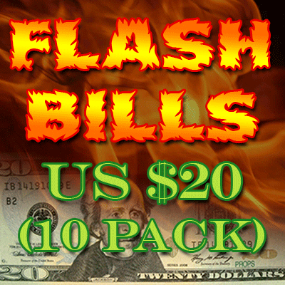 Flash Bill Ten Pack ($20.00) - Trick