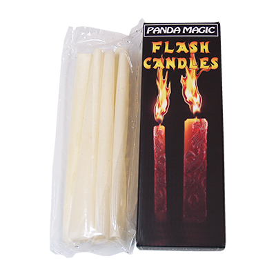 Flash Candles (6 units) by Panda Magic - Trick