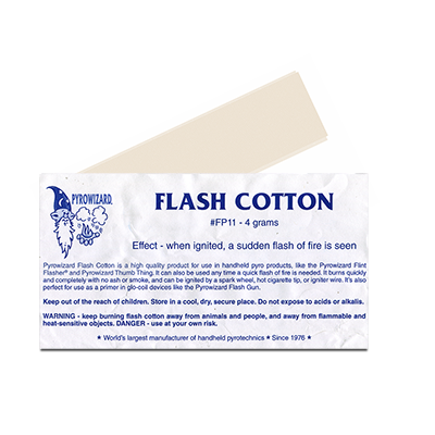 Theatre Effects Pyrowizard Flash Cotton - 4 grams