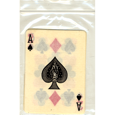 Flash Poker Variety Ten Pack (KD,QS,KH,AS,2D,5S,7C,8D,9H,10H) by Red Corner Magic
